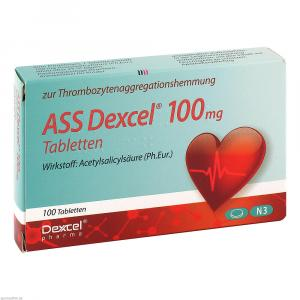 ASS Dexcel 100 mg Tabletten