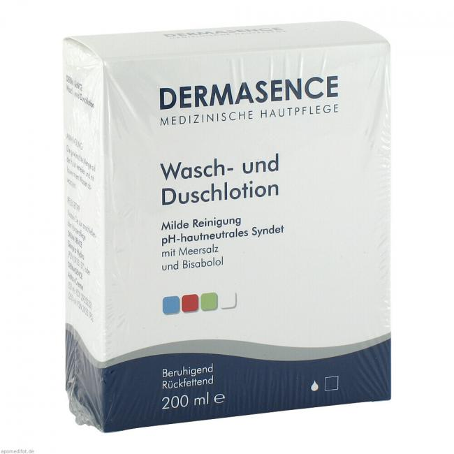 dermasence wasch und duschlotion 200 ml preisvergleich. Black Bedroom Furniture Sets. Home Design Ideas