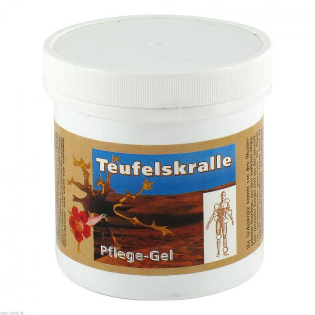 g nstige preise f r teufelskralle pflege gel 250 ml von weko pharma gmbh bei medipreis. Black Bedroom Furniture Sets. Home Design Ideas
