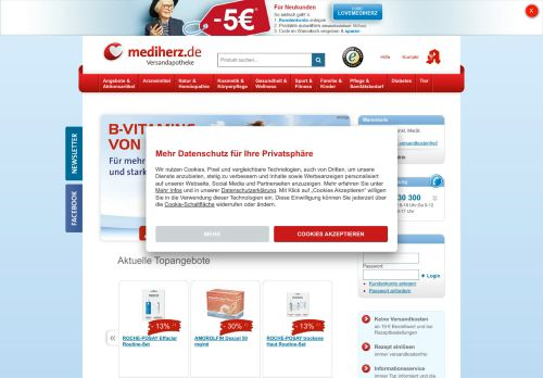 mediherz Screenshot